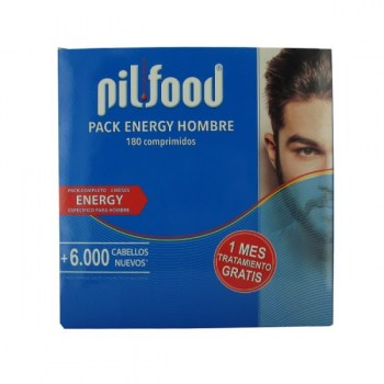 Pack energy hombre 180 comprimidos pilfood